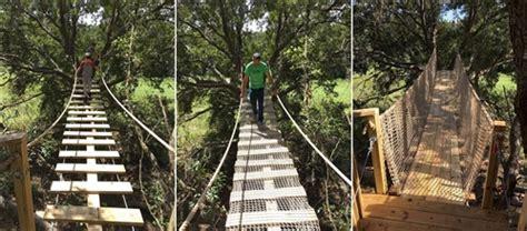 Diy Suspension Bridge 54 Span Rope Bridges Cable Bridge Kits