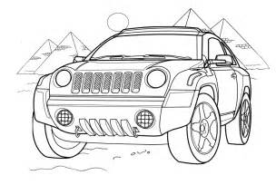 jeep compas car coloring pages the coloring pages
