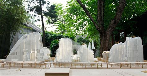 ma yansong designboom ma yansong mad architects shanshui city exhibition book