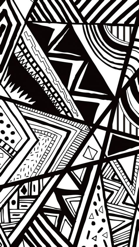 black and white doodle wallpaper black and white doodle iphone 5s wallpaper