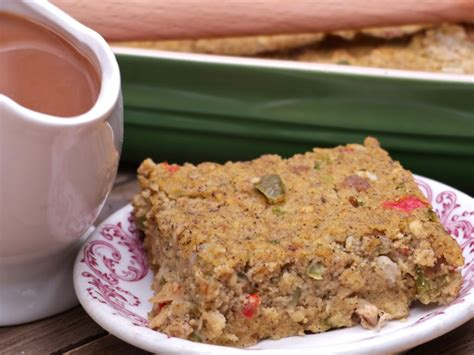 old fashioned southern cornbread dressing