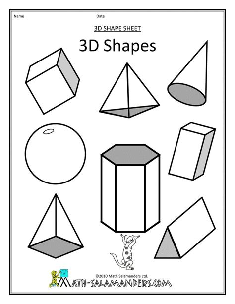 printable children s shapes 17 best images about kids shapes printables activities on