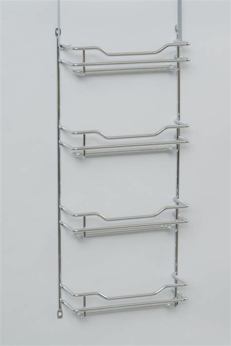 Thin Spice Rack L T Williams Narrow Chrome 4 Tier Spice Rack At