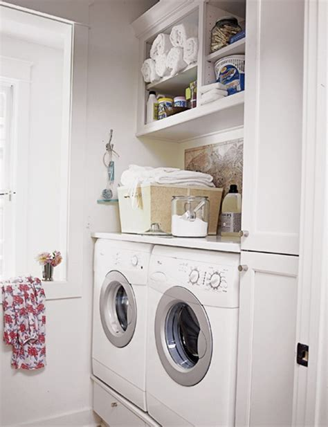 Laundry Room Storage Small Laundry Storage Solutions