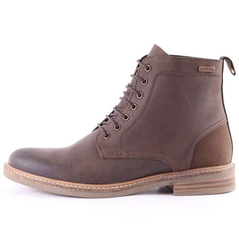 barbour mens boots barbour byker mens boots in brown