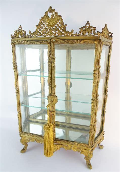 Antique Miniature Curio Cabinet A0435 3l Jpg 50