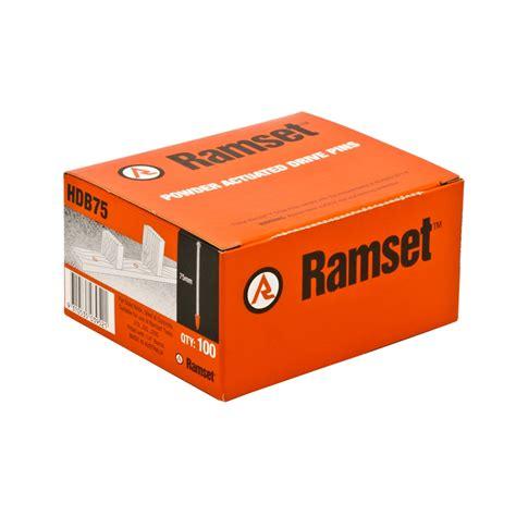 Ramset J20s Ramset 3 8 X 75mm Nail Gun Drive Pins 100 Pack Ebay