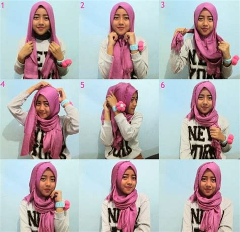 video tutorial hijab simple casual style hijab simple casual