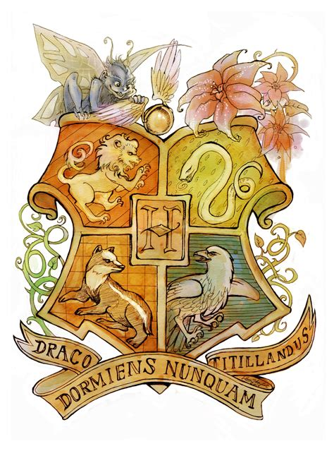 hogwarts crest by linnpuzzle on deviantart