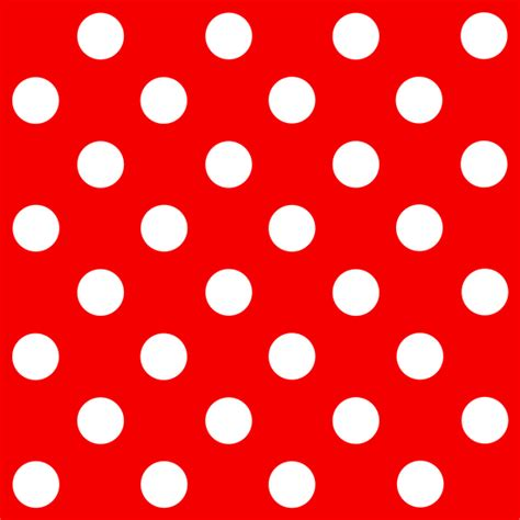 dot pattern css3 red and white polka dots pattern free clip art