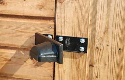 Shed Security Locks security apex pent regency garden buildings