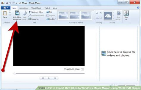 tutorial reverse a clip in windows movie maker how to import dvd clips to windows movie maker using winx