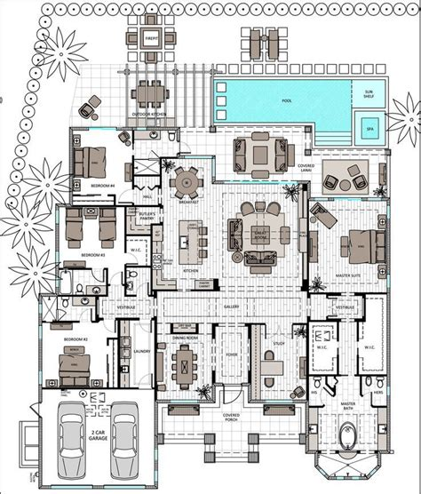 Single Story Floor Plan 212 best floor plans images on pinterest house floor