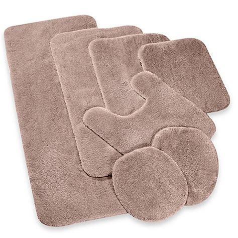Contour Bath Rug Buy Wamsutta 174 Duet Contour Bath Rug In Sand From Bed Bath Beyond