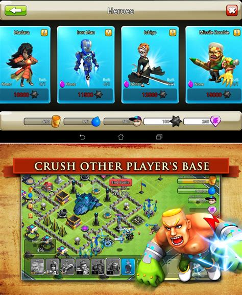 mod game mirip coc daftar game android bagus mirip clash of clans game keren