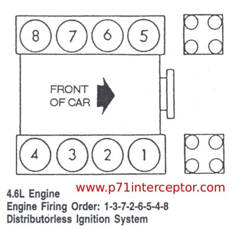 Legacy Server 4 5 Liter ford crown 4 6l firing order