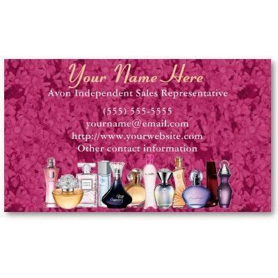 free avon business cards templates 20 best order avon business cards images on