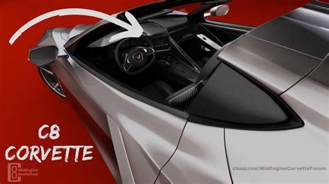 corvette  interior rendering mid engine corvette