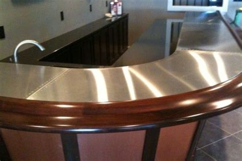 Metal Bar Tops by Ss Bar Top Catawba Island Brewing Company