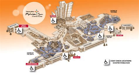mohegan sun casino floor plan mohegan sun map gallery