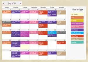 Free Room Planning Software web calendar software with online event registration