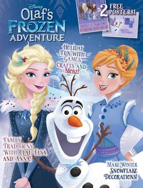 olafs frozen adventure disney olaf s frozen adventure media lab publishing