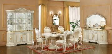 leonardo italian dining room furniture set em italia