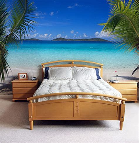 Paint Wall Murals natural beach wall murals paint in small bedroom interior decorating