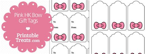 printable gift tags pink free blank printable tags labels hot girls wallpaper