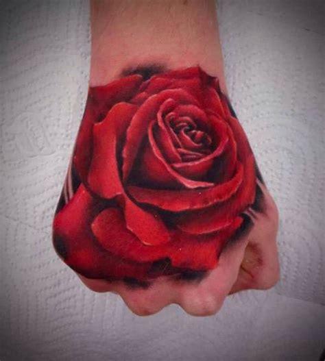 rose tattoo on hand girl 20 rose tattoos on hand for girls