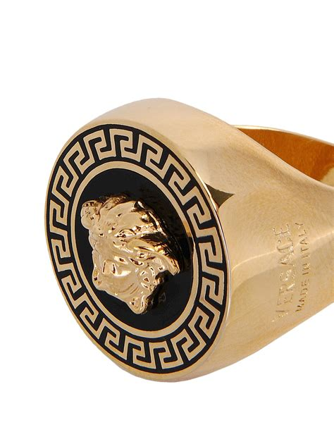versace gold ring for lyst