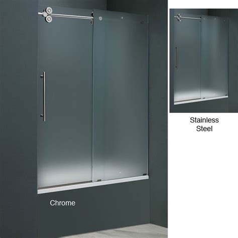 Frosted Glass Sliding Shower Doors 17 Best Images About Sliding Glass Shower Doors On