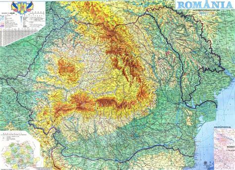 range map generic information on romania romania dacia