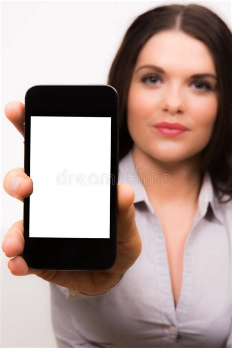 high hairlines a firm of beauty in women beautiful young business women with iphone mobile device