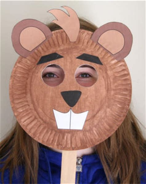 beaver crafts for kids ideas to make beavers with easy paper plate beaver craft