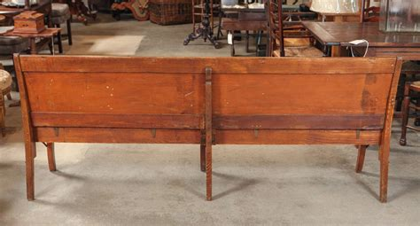 school benches for sale american folding school bench circa 1920s for sale at 1stdibs
