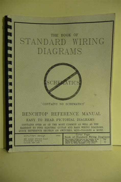 the new book of standard wiring diagrams by les schatten
