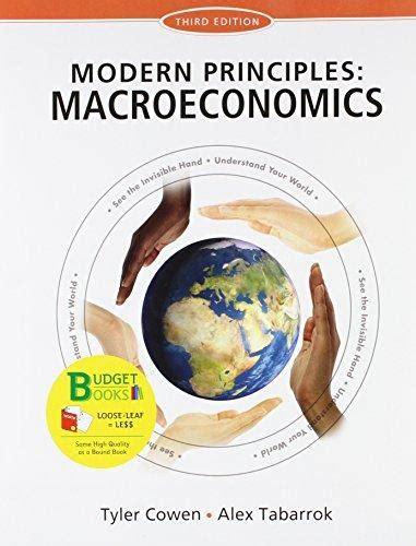 modern principles macroeconomics books isbn 9781464110245 leaf version for modern