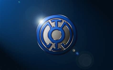 wallpaper blue lantern blue lantern logo wallpaper by superman3d on deviantart