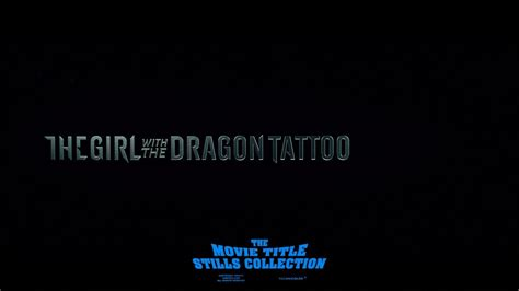 the girl with the dragon tattoo 2011 full movie the with the 2011 title sequence