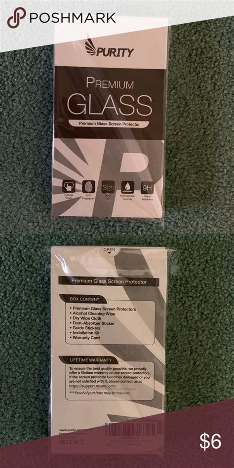 purity screen protector  iphone    screen