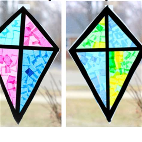 How To Make Paper Kites For Preschoolers - 25 diy kite activities for five year olds page 9