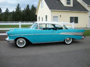 1957 chevy bel air classic garage