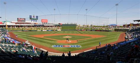 park mesa az sloan park ballpark of the chicago cubs