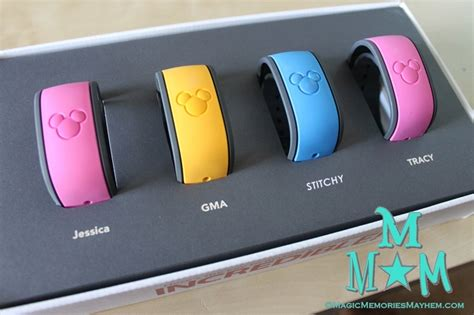 disney band colors disney s magicbands magic memories