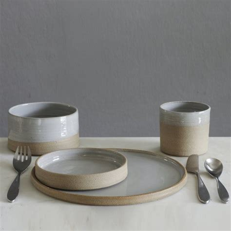 Handmade Pottery Table Ls - 25 unique stoneware dinner sets ideas on