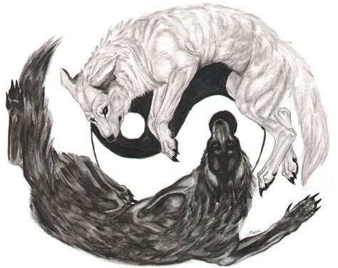 yin yang wolf tattoo imvu groups