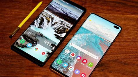 Samsung Galaxy S10 Or Note 9 by Samsung Galaxy Note 9 Vs Samsung Galaxy S10 Plus Comparison