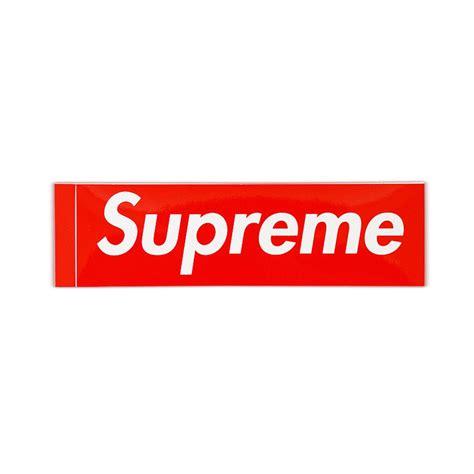 Kaos Supreme Logo Box 23 supreme box logo stickers flykicks