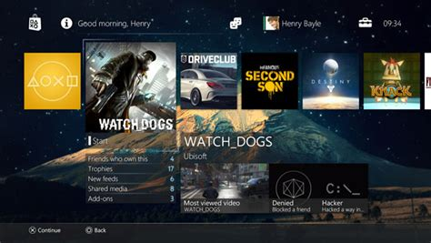 ps4 themes install playstation 4 doesn t support custom wallpapers gematsu